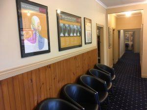 Montrose Spinal Centre Reception