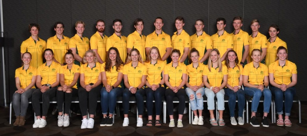 190722 U23 Australian Rowing Team