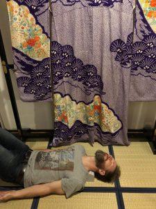 Dean Using His Denny