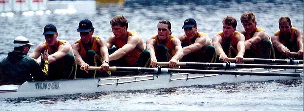 Dr. Hooper and The Australian Rowing Team