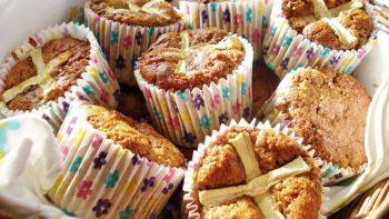 Hot Cross Carrot Muffins Basket Gluten Free SCD And Veggie