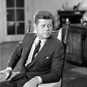 December 16, 1962 A CONVERSTION WITH THE PRESIDENT President John F. Kennedy.  #26338_c_24 Copyright CBS Broadcasting, Inc., All Rights Reserved, Credit: CBS Photo Archive
