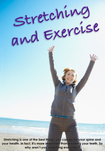 The fantastic little book contains all the rehab you will ever need.