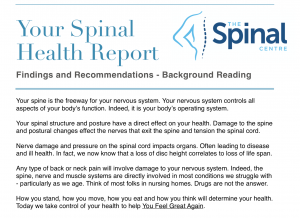 The Spinal Health Report Thumbnail 2