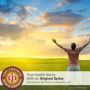 True Health starts With an Aligned Spine