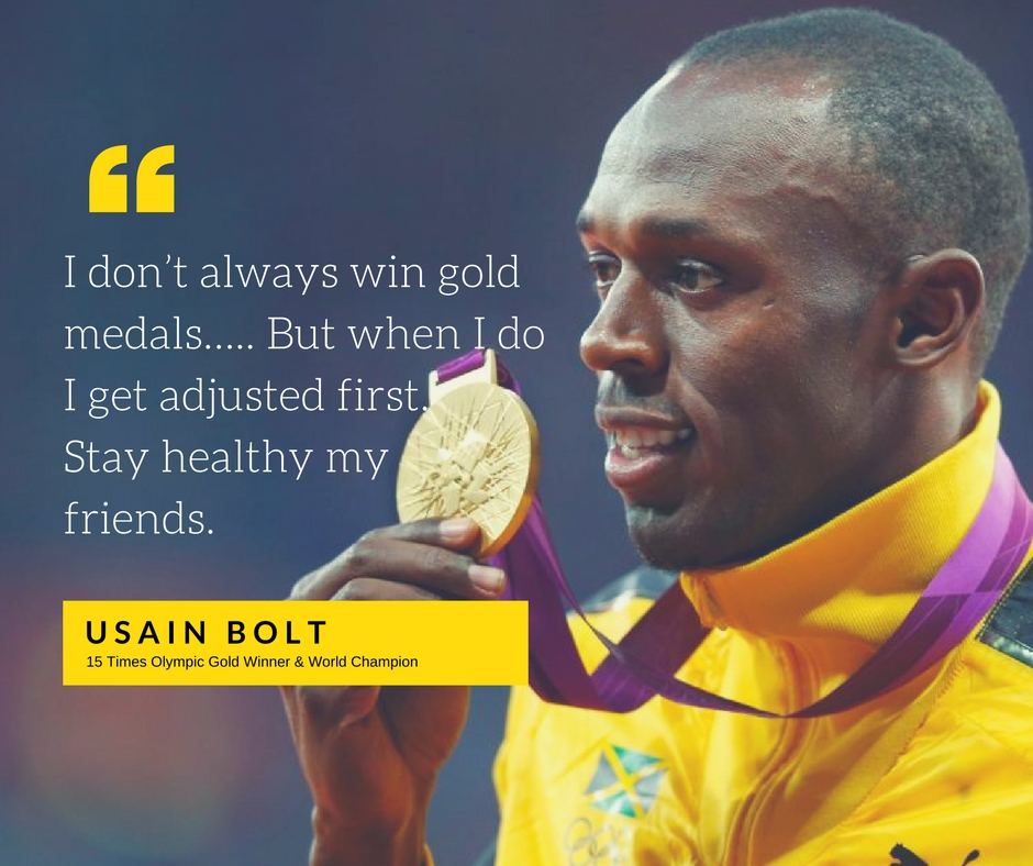 Usain Bolt Adjusted Before Racing