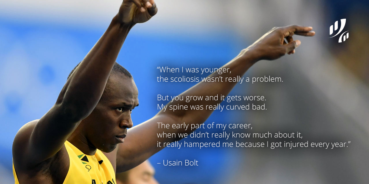 Usain Bolt Treatment Of Scoliosis