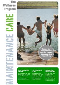 Wellness Care Program Cover